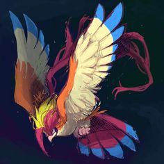 """technoclove: """" I can't believe how long it took me to realize how cool mega Pidgeot is? Gyrados Pokemon, Pokemon Pidgeot, Pokemon Gif, Pokemon Games, Pokemon Stuff, Flying Type Pokemon, Elder Scrolls Skyrim, Catch Em All, Videogames"""
