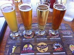 Take your taste buds on a tour at the Smoky Mountain Brewery (Windy Gap Wheat, Mountain Light, Cherokee Red Ale and Thunder Road).