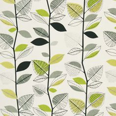 Autumn Leaves Curtain Fabric - Maybe for the spare room curtains
