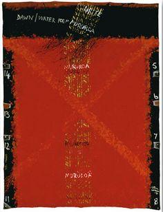 Dawn / Water Poem -lg by Ralph Hotere at Image Vault - prints Water Poems, New Zealand Art, Maori Art, Dawn, Conversation, Culture, Words, Artist, Mcqueen