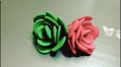 DIY Crafts - How to Make an Easy Flower out of Satin Ribbon + Tutorial . - YouTube