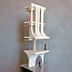 MAA I 3D Section Model Making 1:50 #melikealtinisikarchitects