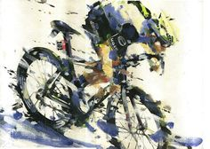 PAINTING LE TOUR: TDF 2016 stage 14 4 Cav!