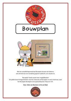 Lessuggesties bij Bouwplan van Kg&Rolf door juf Els en juf Anke