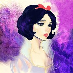 Snow White Sketch by leylatmz.deviantart.com on @deviantART
