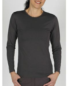 Women's BugsAway® Chas'r™ Long-Sleeve Crew Tee - Good for travel in bug infested areas!