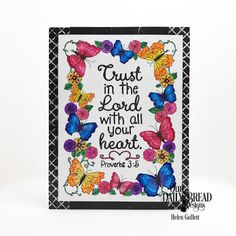 Our Daily Bread Designs Paper Collections: God's Blessings Coloring Pages, Chalkboard