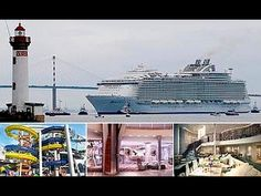 World's largest cruise ship first- sea trial.