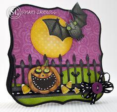 Shari Carroll: …my world –  EEEK Halloween! - 10/19/10.  (Pin#1: Halloween: Bats... Pin+: Halloween: Pumpkins; Halloween: Scenes).