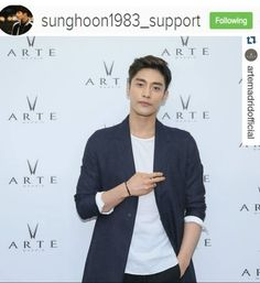 Yeah !! I found 3 new photosof Sung Hoon 谢谢 xie xie 감사합니다 Thanks to photo ow...