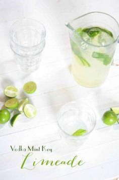 Vodka Mint Key Limeade Recipe