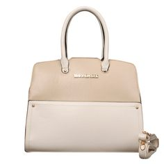 Michael Kors Reese Match Medium Apricot Satchels only $72.99
