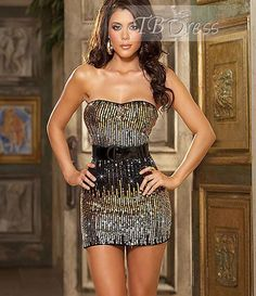 TBdress Reviews for Attractive Golden Spandex Women Babydoll | Tbdress Reviews#women dresses#short dresses#women babydoll reviews#