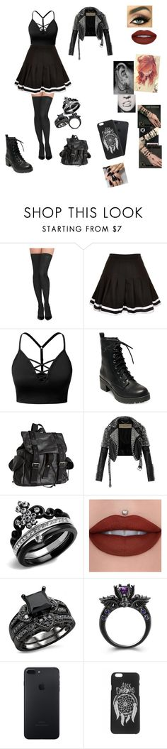 """""""Untitled #311"""" by lexaguilbert ❤ liked on Polyvore featuring Commando, Motel, J.TOMSON, Madden Girl, Joe's Jeans, Burberry and Jeffree Star"""