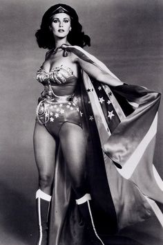 Lynda Carter- Always makes me think of Dad. He thought she was pretty!
