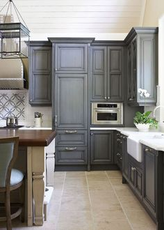 Best Diy Painted Cabinets On Pinterest Kitchen Cabinets 640 x 480