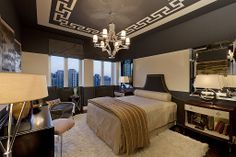 Art Deco Master Bedroom - Come find more on Zillow Digs!