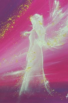 """Limited angel art photo """"angel"""" , modern angel painting, artwork, perfect for frame"""