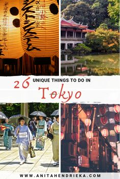 Looking for some unique things to do in the livest city in the world? Here's 26 unique things to do in #Tokyo, Japan  #visitjapan #japantravel