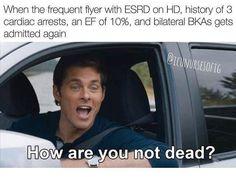 Nursing School Motivation, Nursing School Humor, Icu Nursing, Nursing Notes, Rn Humor, Nurse Humor, Hospital Humor, Nurse Problems, Medical Memes