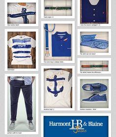 Harmont*2013 by Guerrino Style MAN*UOMO  * Nueva Collezione Primavera*Estate 2013    # Blu-Turchese-Celeste * Tendenze Estate 2013
