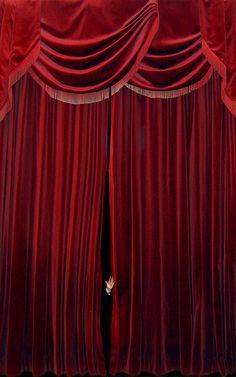 red antique velvet curtain from Imgarcade.com