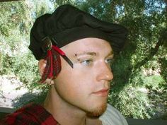 This distinctive hat is a faithful replication of the tam o' shanter of ancient and medieval Scotland. Like its predecessor, it is made from your choice of linen, solid color wool or 100% pure, worsted tartan plaid! The dashing tartan ribbon, or cockade, that adorns each of our tams is the crowning touch...