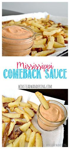 Mississippi comeback sauce is the fun cousin of fry sauce: it's creamy, has a surprising depth of flavor, and is perfect for fries, burgers, dogs, and more.
