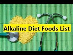 Alkaline Diet Foods List - Best Alkaline Foods List