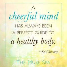 Cheerfulness is SO good for your health! ☺️ Which is why joyful creativity is a powerful route to wellness. (And what The Muse Spa is all about...) #themusespa ✨⭐️✨ #creativity #inspiration #wellbeing  : : Free Samples from The Muse Spa : Digital Retreat for Writers, Artists & Creatives : :