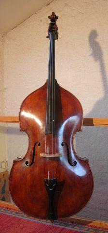 Jean Auray, 4/4 model viol shape