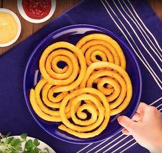 Хрустящие картофельные спиральки. Так вкусно похрустеть с соусом!