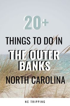 Here are some fun weekend things to do in The Outer Banks, including its most famous attractions, places to stay, and more. Visit North Carolina, North Carolina Vacations, Outer Banks North Carolina, Living In North Carolina, Carolina Beach, Travel Usa, Travel Tips, Travel Ideas, Outer Banks Beach