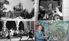 As Disneyland turns 60, rare photographs show life on its opening day #DailyMail | See this & more at: http://twodaysnewstand.weebly.com/mail-onlinecom