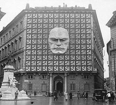 [History] The headquarters of Benito Mussolini's National Fascist Party in Rome, 1934
