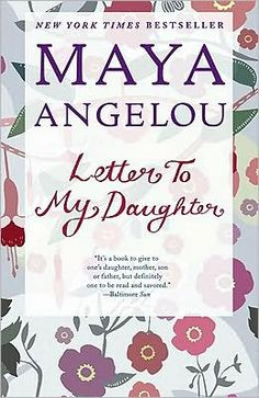 Maya Angelou. The opening pages of this booked hooked me. It wasn't as riveting as I through (and I love Maya), but I still recommend it.