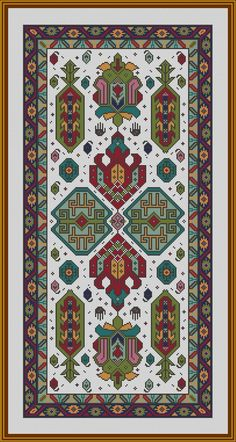 This Pin was discovered by Şen Embroidery Sampler, Diy Embroidery, Cross Stitch Embroidery, Embroidery Patterns, Weaving Patterns, Cross Stitch Patterns, Beginner Crochet Projects, Palestinian Embroidery, Cross Stitch Bookmarks