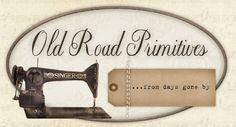 Old Road Primitives Primitives ~ Your Prim Pattern Store