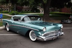 1957 Buick Roadmaster. This is actually a Roadmaster 75. The best Buick had in 57 and my all time favorite dream car.