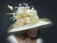 Gena Conti Custom Millinery Couture Kentucky Derby, Fascinators, race hats Men and Womens -Detroit USA