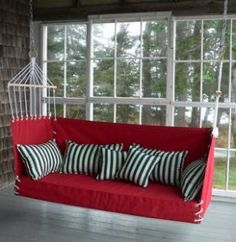 modern porch swings diy inspiration - Front Porch Swing