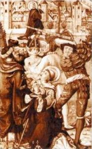 Saint Albano di Magonza Patron saint of epilepsy and kidney stones