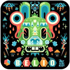 Illustration for the 10 years of Belio magazine in Surrealistic Madness by Seb NIARK1 Feraut: Part 1