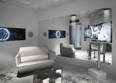 60 Amazing Futuristic Apartment Designs