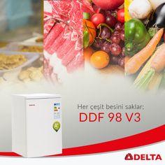 Her çeşit besini itinayla saklar; DDF 98 V3. Detaylı bilgi için; http://www.deltasogutma.com.tr/urun/delta-ddf-98-v3-derin-dondurucu #delta #deltasoğutma #derindondurucu #freezer