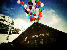 mountain madness @ La Folie Douce + @ 360°, Val Thorens
