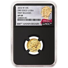oz Gold Mercury Dime Coin Excited coin collectors are abuzz about the newest of the gold coin collectibles. The Mercury Dime is 100 years old.