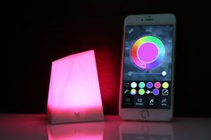 The Notti Smart Mood Light ($50) changes color for different phone notifications. | Can You Get Through This Post Without Spending $50?