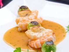 RECETAS COCINA PARA NAVIDAD 2013 de Karlos Arguiñano - ANTENA 3 TV Good Food, Yummy Food, Thai Red Curry, Tapas, Shrimp, Coles, Cooking, Ethnic Recipes, Christmas Recipes
