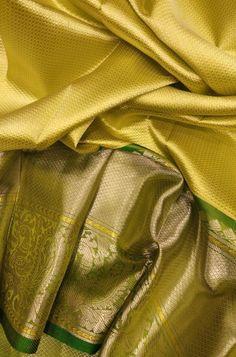 Green Handloom Kanjeevaram Pure Silk Saree    #kanjeevaramsaree#